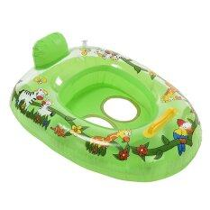 Hình ảnh Kids Baby Care Seat Swimming Swim Ring Pool Aid Trainer Beach Float Inflatable
