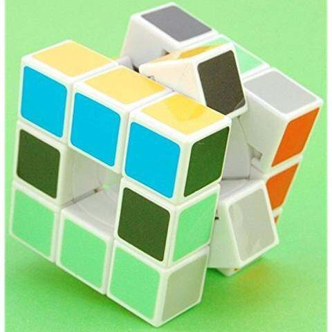 Lanlan 3x3x3 Void Puzzle Speed Cube White 4