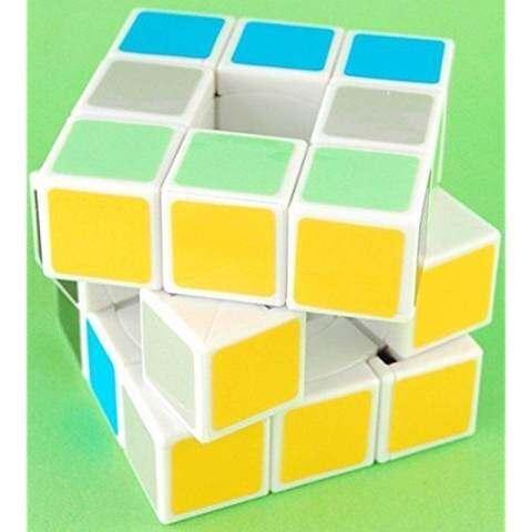 Lanlan 3x3x3 Void Puzzle Speed Cube White 1