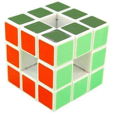 Lanlan 3x3x3 Void Puzzle Speed Cube White 3