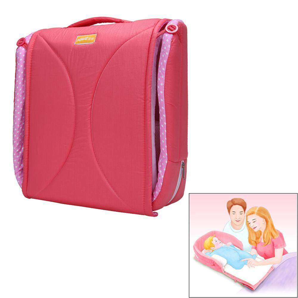 Portable Infant Bed Folds Into Bag,travel Bed,delight Snuggle Nest - Intl By Yks.