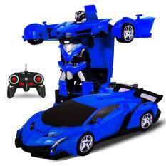 Redcolourful Satu Kunci Robot Deformasi Transformasi Mainan Model Mobil Elektrik Dengan Pengendali Jarak Jauh Gaya: 1: 18 By Hiquuen.