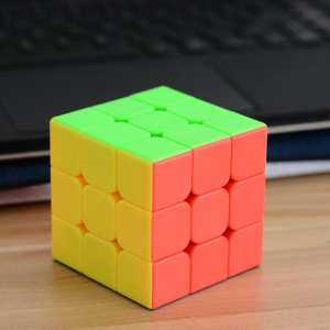 Hình thu nhỏ sản phẩm G3 Speed Cube Brain Teaser 3x3 Stickerless Twisty Puzzle Competition Magic Cube - intl