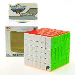 Hình thu nhỏ sản phẩm G6 Speed Cube Brain Teaser 6x6 Stickerless Twisty Puzzle Competition Magic Cube 68mm - intl