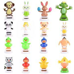 Hình thu nhỏ sản phẩm Veecome 1PCS Solar Powered Dancing Animal Decoration Color:Koala For Children - intl