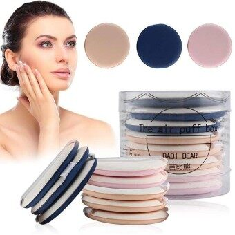 Bandingkan Toko 8Pcs Air Cushion Puff BB Cream Applicator Sponge Puff Facial Powder Makeup Tool -