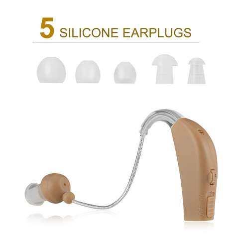 Allwin Baru Isi Ulang Alat Bantu Dengar Suara Pengeras Suara Pribadi Di Belakang Telinga