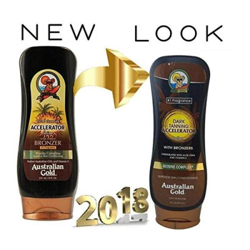 Buy Australian Gold Dark Tanning Accelerator w/Bronzers, 8 fl oz - intl Singapore