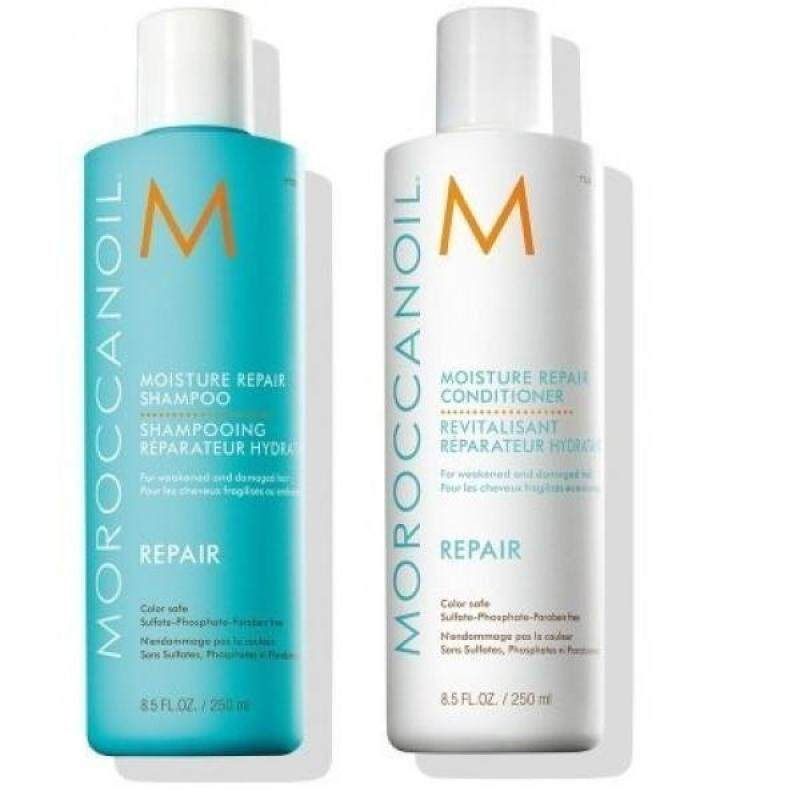 Buy Moroccanoil Moisture Repair Shampoo & Conditioner Combo Set (8.5 oz each) - intl Singapore