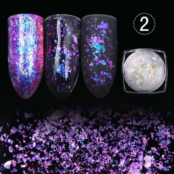 Nail art glitter Dust Powder Sequins Decoration Glitter Manicure ...