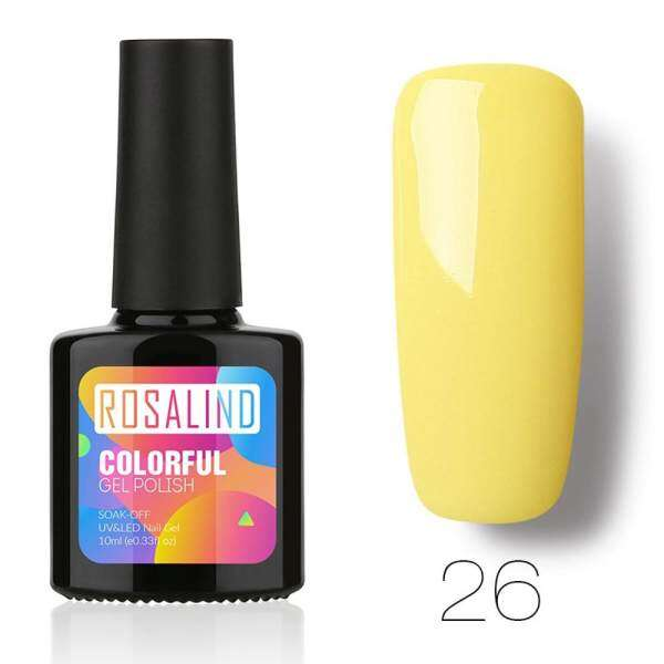 ROSALIND 10ML Chameleo Nail Polish Nail Art Nail Gel Polish UV LED Gel Polish - intl Philippines