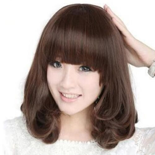 Upsee Women's Fashion Heat Resistant Long Curly Wig Hair Cosplay Costume Full Wigs