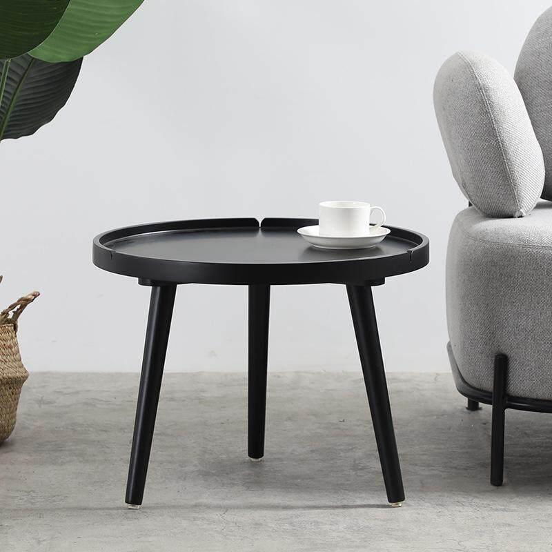 Ins Small Table White Small Round Table Simple Small Tea Table Small Apartment Mini A Few Corner A Few Nordic Sofa Side Cabinet