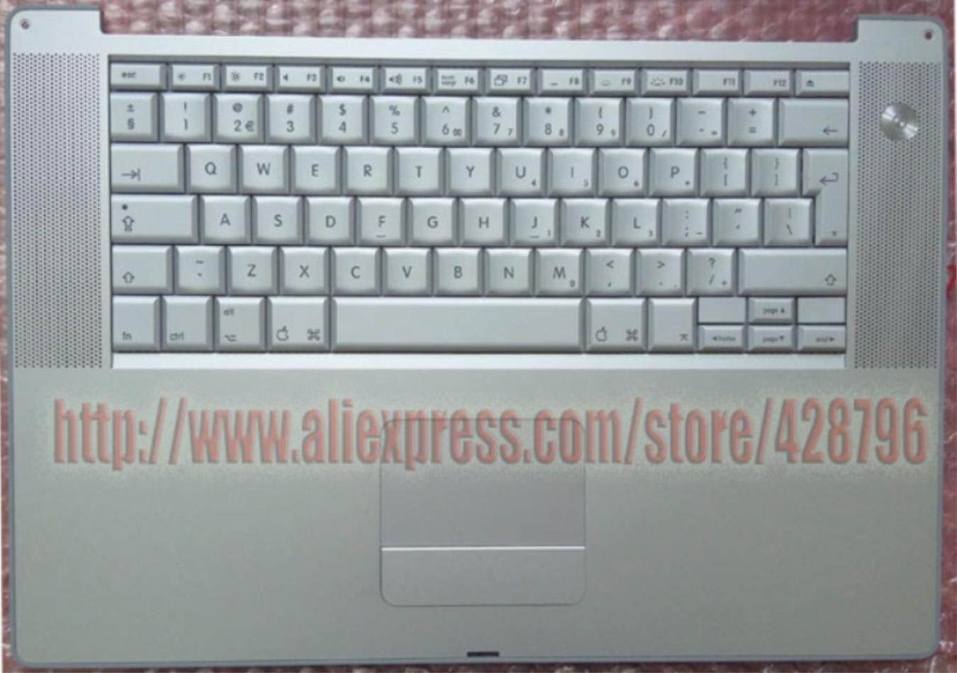 613-4697-c -bpowerbook G4 Keyboard Trackpad 15 A1046 1ghz/1.25 Ghz (m8980m8981)1.33ghz/1.5ghz A1095(m9421 M9422) Brand New!