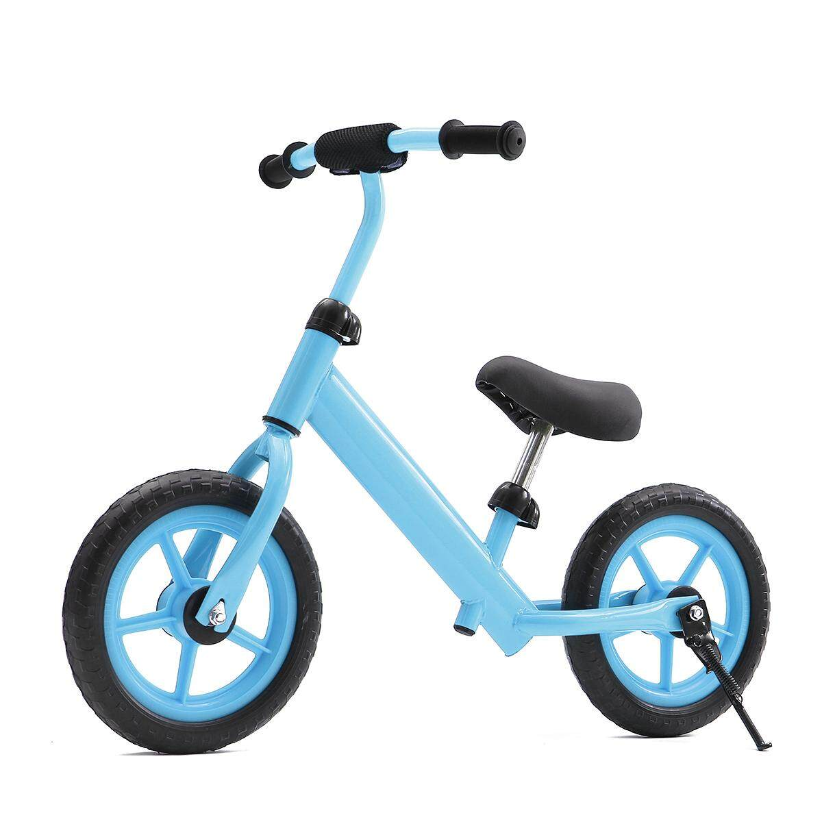 12 Balance Bike Classic Kids No-Pedal Learn To Ride Pre Bike w/ Adjustable Seat Blue - intl