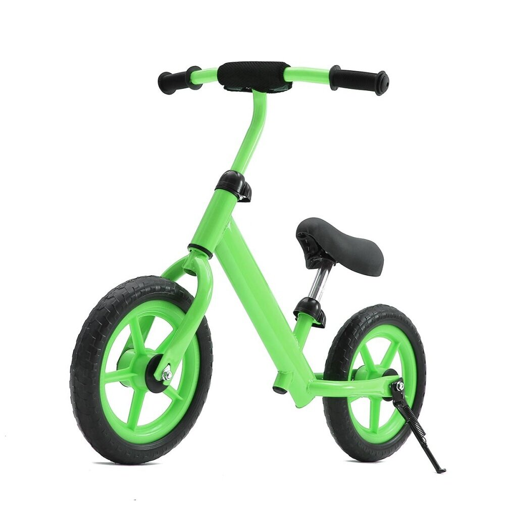 12 Balance Bike Classic Kids No-Pedal Learn To Ride Pre Bike w/ Adjustable Seat Green - intl