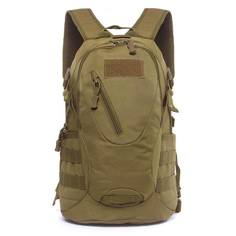 Redcolourful 20l Durable Exquisite Outdoor Backpack Sports Shouders Bag For Ridding Travelling Outdoor Activities Color:wolf Brown - Intl By Redcolourful.