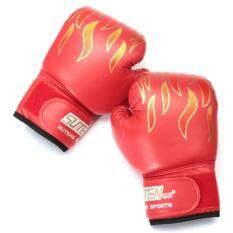 Hình ảnh Panda Online 5 OZ Children Kids FIRE Boxing Gloves Sparring Punching Fight Training Age 3-12