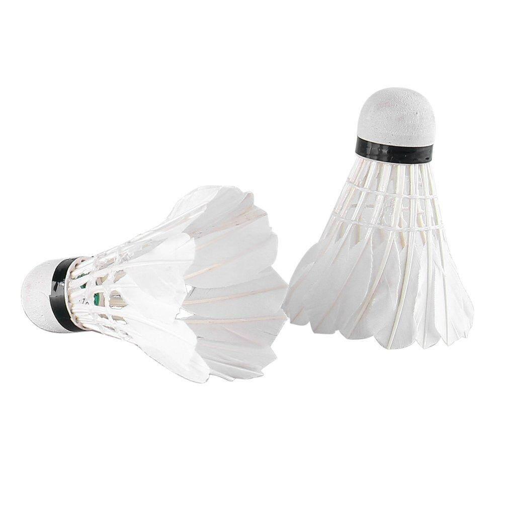 Befu Reiz M10 12pcs/set Professional Badminton Ball Duck Feather Shuttlecocks Ball White - Intl By Befubulus.