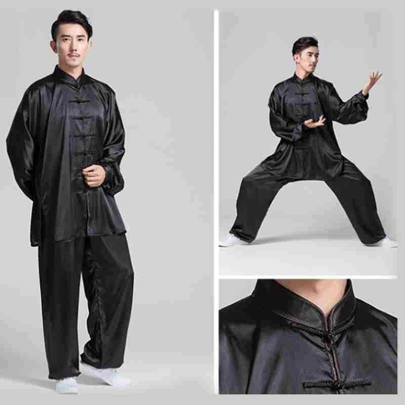 340124f40 Black/White Customized women&men tai chi clothing sets kung fu clothes martial  arts uniforms suits