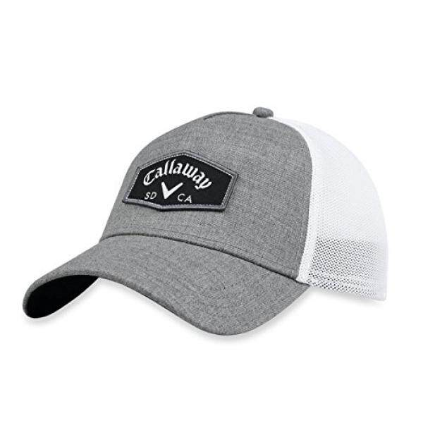 b606e2f1 Callaway Golf 2018 Tour Authentic Adjustable Trucker Hat, Charcoal - intl  Singapore