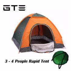GTE Quick Automatic Opening Ultralight Tents Outdoor 3-4 Person Waterproof Tourist C&ing Tent -  sc 1 st  Lazada & Camping u0026 Hiking Tents - Buy Camping u0026 Hiking Tents at Best Price ...
