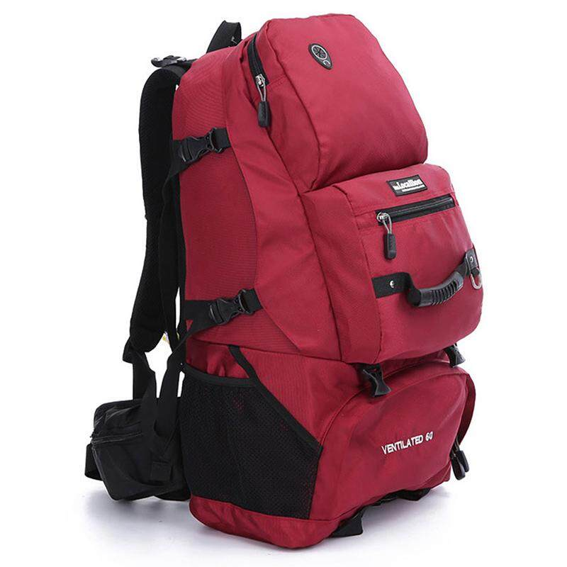 Redcolourful Lightweight Durable Travel Backpack Large Capacity 50l Foldable Water Resistant Backpack For Outdoor Hiking Mountaineering - Intl By Redcolourful.