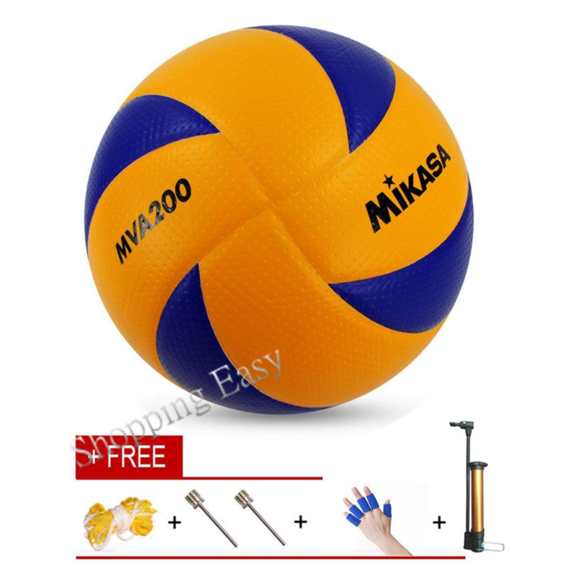 Mikasa Soft Touch Volleyball Size 5 Mva200 Train Quality Pu Volleyball - Intl By Koki Bear.