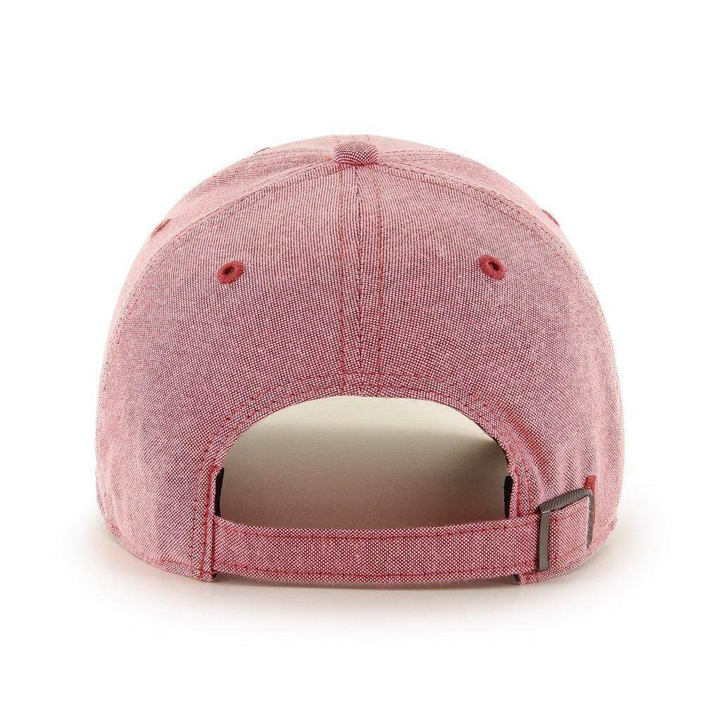 best service b7fc0 2ebca MLB Los Angeles Angels Monument Salute Clean Up Red  47 Brand Adjustable Hat  - intl
