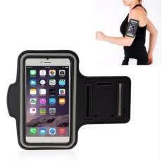 Telepon Arm Pouch Bersepeda Menjalankan Jogging Gym Latihan Armband Holder untuk Berbagai Ponsel Hingga 5.5 Inches