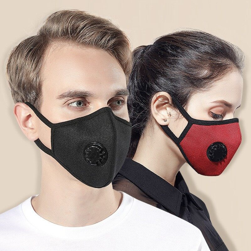 Gentle Children Anti-dust Cotton Pm2.5 Face Mouth Mask Colorful Cartoon Printing Adjustable Respirator With Air Filter Breath Valve Cool In Summer And Warm In Winter Masks
