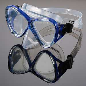 Hình thu nhỏ sản phẩm Professional Anti-fog Scuba Diving Mask Silicone Mouthpiece Dry Snorkel