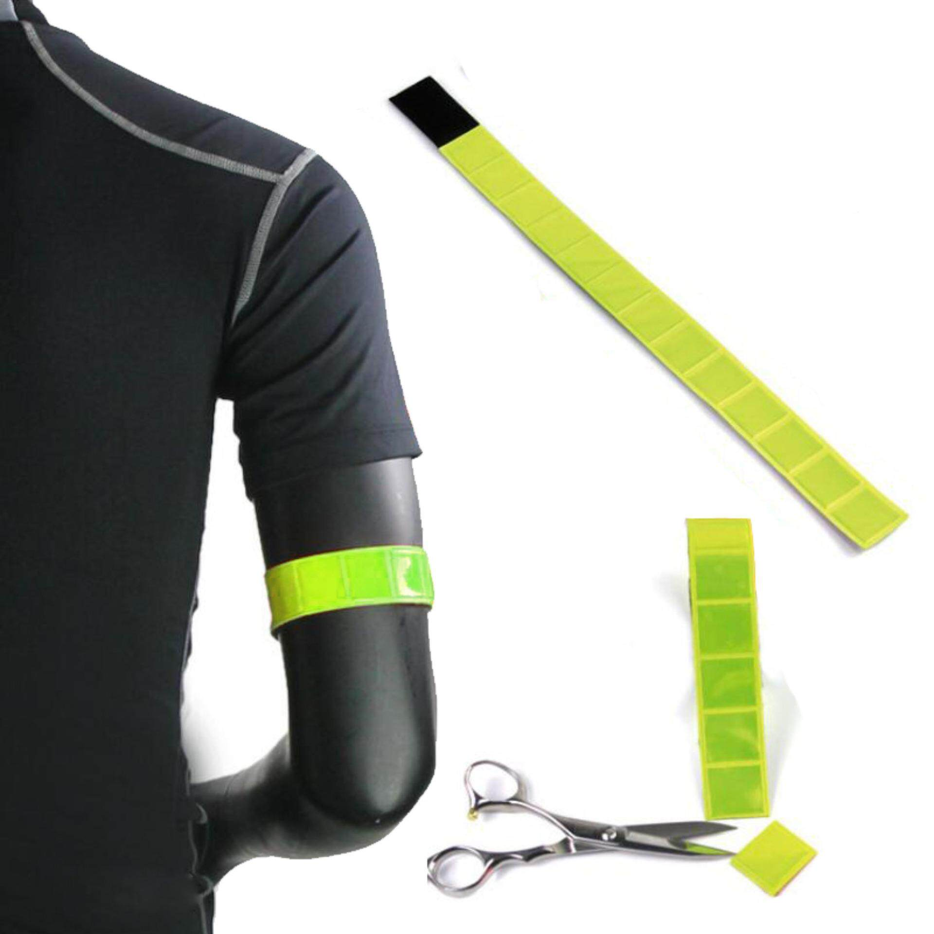 Security & Protection Reflective Material Collection Here Reflective Cycling Arm Band Running Outdoors Safety Belt Wrist Leg Useful Straps