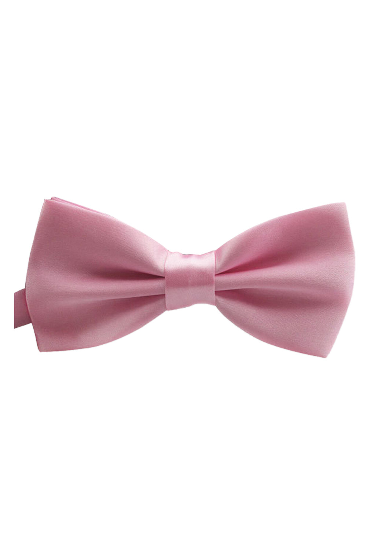 Adjustable Waist Satin Bow Tie Tie Cravat For Men Women Pink - Intl By Greatbuy888.