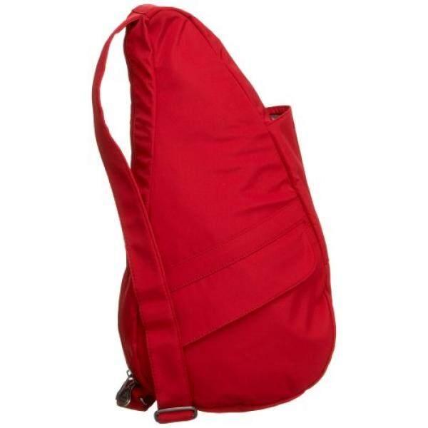 ameribag 7104 black medium microfiber healthy back bag huge ... 4dbc85a533ba3