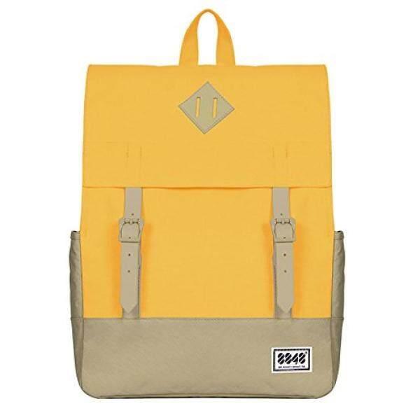 a82aca6d0e Autumn Fashion Korea Japan Style 500D Waterproof Canvas Backpack Teenagers  Women Casual Backpack Yellow