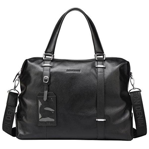4a7bec5c3922 BISON DENIM Laptop Business Bag for Men Cross body Messenger Shoulder Bag  Briefcase Black - intl