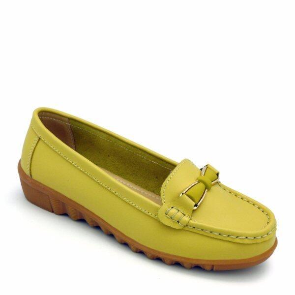 Carlo Rino 333030-123-07 Linear Mocassins (Yellow) Malaysia