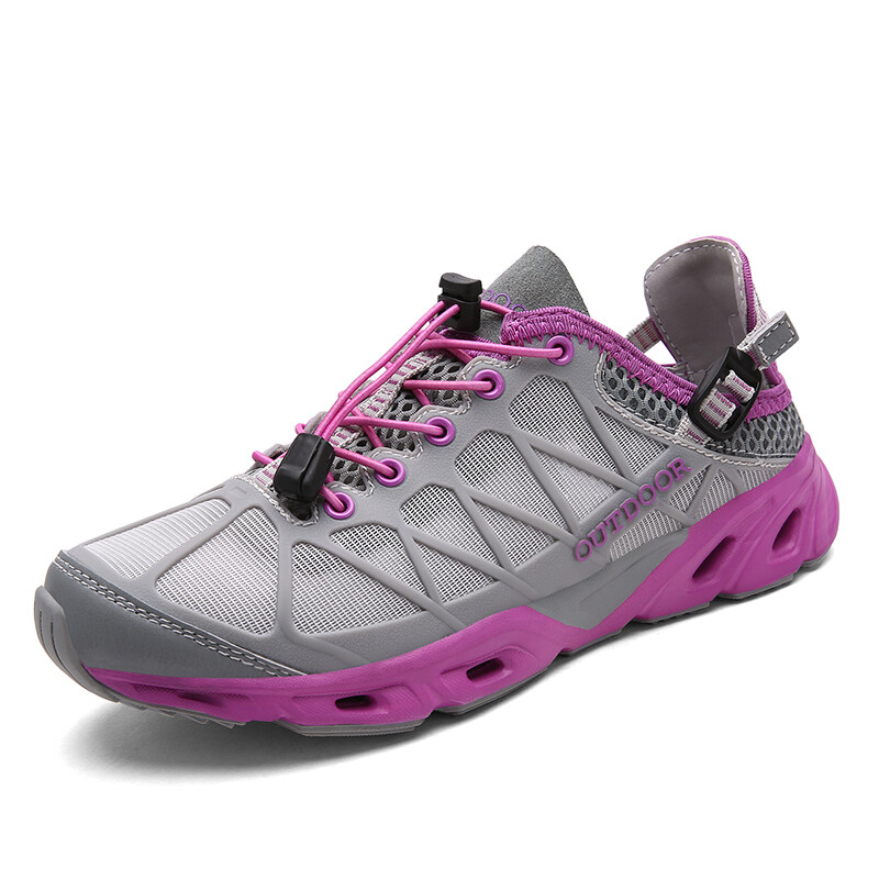4b66cbd2d CHUANGYU Women Sport Summer Water Shoe Mesh Aqua Quick-Dry Beach Hiking  Shoes - intl