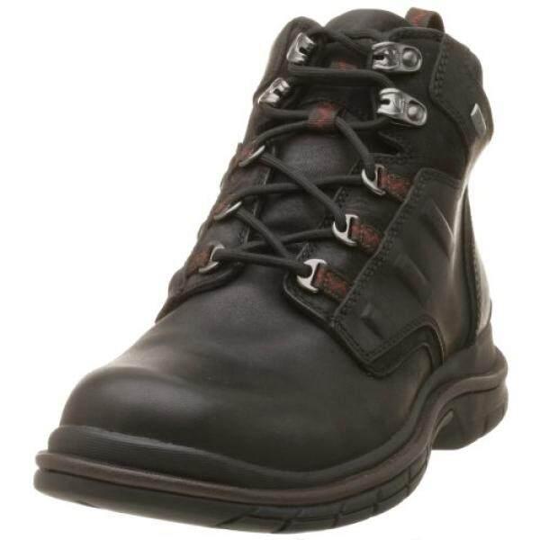Clarks Pria Abu Gore-Tex174 Boot, Hitam,-Internasional