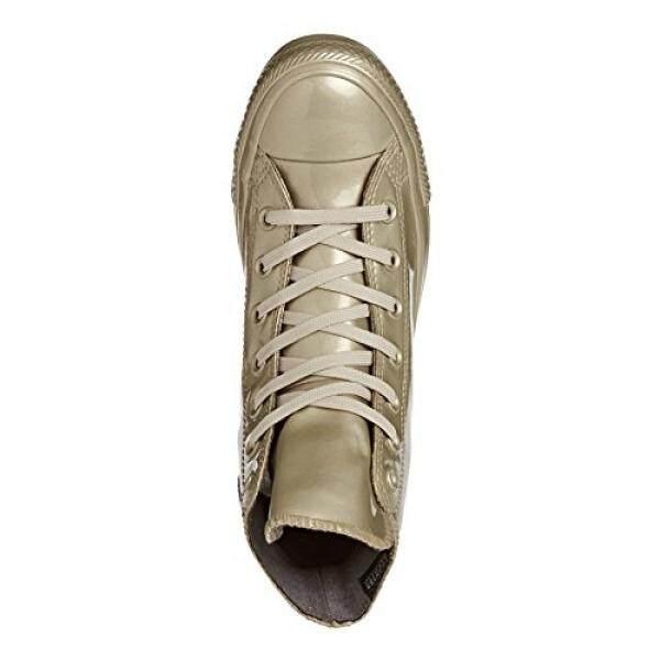 Converse-Wanita Cengkraman Taylor Semua Bintang Hai Terbaik Sepatu Karet Metalik, Ukuran: 10 B (M) AS Wanita, Warna: Emas Ringan/Ringan Emas/Emas-Internasional
