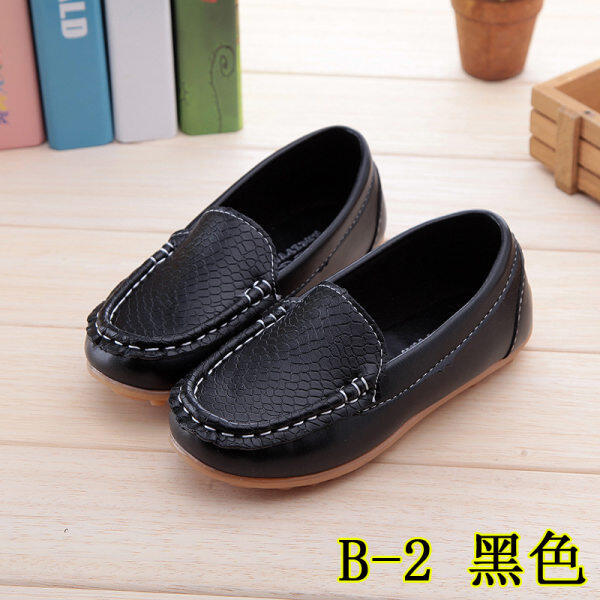 Fashion Childrens Casual Comfortable Shoes Beanie Shoes Cute Soft Bottom Shoes Black Malaysia