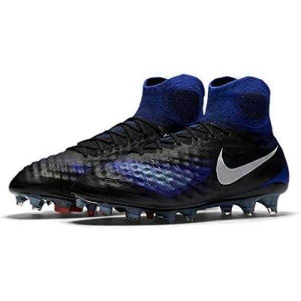 Dari Amerika Serikat Nike Pria Magista Obra FG Sepak Bola Cleat (Sz. 10) Hitam, Biru-Internasional