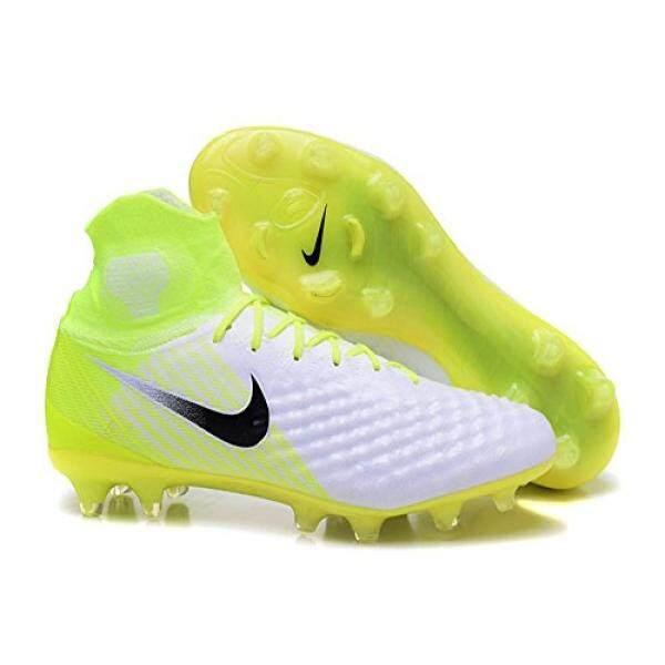 Dari Amerika Serikat Nike Pria Magista Obra II FG Cleat-(Putih/Hitam/Volt/Platinum Murni) ukuran: 12.5-Internasional