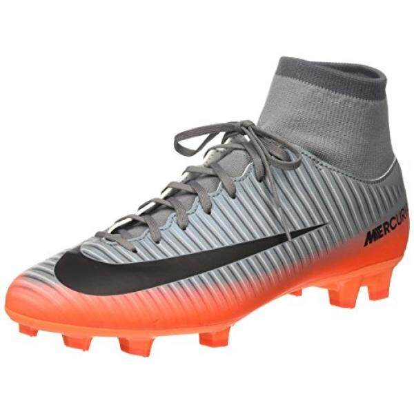 From USA NIKE Mens Mercurial Victory VI CR7 DF FG Cool Grey/Mtlc Hematite Soccer Cleat 7 Men US - intl