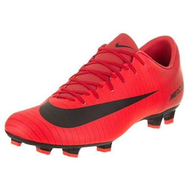 From USA NIKE Mens Mercurial Victory VI FG Soccer Cleat US, University Red/Black) - intl