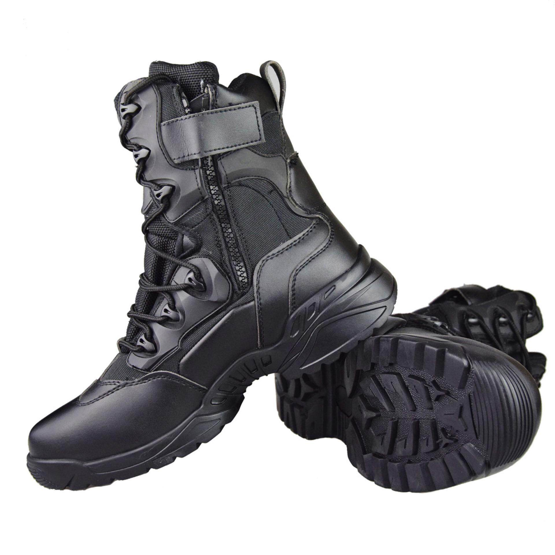 Intelligent Men Boots Male Rubber Combat Ankle Work Safety Shoes Size 40-46 Autumn Winter Snow Boots Men Sneakers Basic Boots