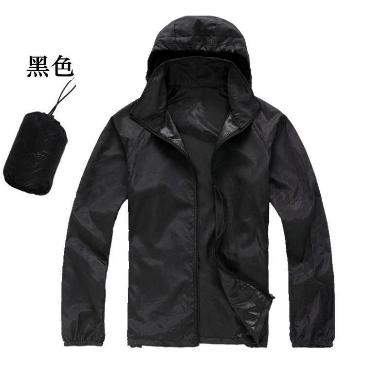 【Xydirect-Outdoor】male Kulit Pakaian Besar Kode Sun Pakaian Ultra Tipis Olahraga Pakaian