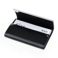Men card holders buy men card holders at best price in malaysia new leather business credit card name id card holder case wallet box bk reheart Images