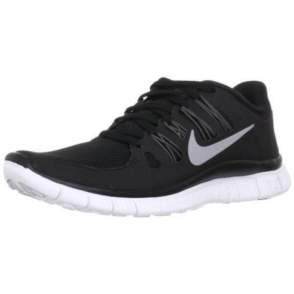Nike GRATIS 5.0 + SZ 11 Wanita Lari Sepatu Hitam Baru Di Kotak-Internasional